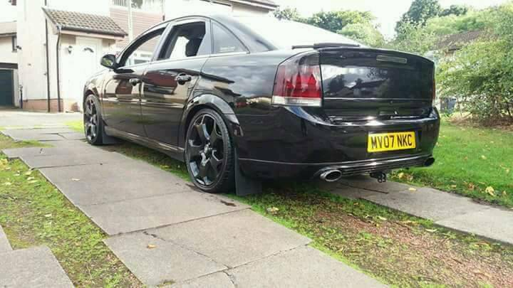 Vauxhall vectra 1.9 cdti sri 150 remmapped bigger intercooler vxr alloys