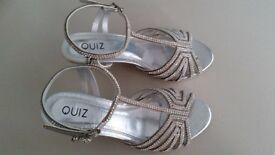 Quiz silver heels