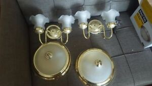 Wall Sconces/Ceiling Lights