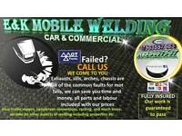 Mobile car and comercial welding