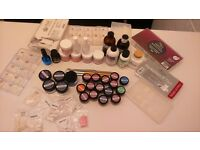 acrylic kit ...powders,monomer and other things most of it new