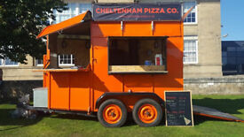 Wood Fired Pizza Horsebox Conversion