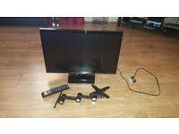 "22"" SAMSUNG HD LED TV WITH WALL BRACKET"