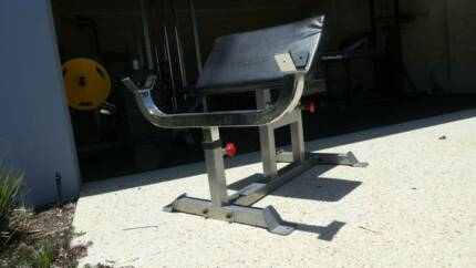 Preacher Curl Bench, Force USA