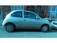 nissan micra good runner cheap on petrol and insurance 2004
