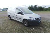 Volkswagen Caddy MAXI 1.6TDI 102PS VAN DIESEL MANUAL SILVER (2013)