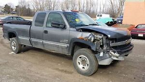 parting out complete 2002 chevy 2500HD 6.6 LB7 auto 2wd