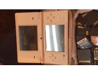 Nintendo DSI with charger, case and 21 games