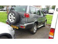 2005 nissan terrano 4x4 2.7 tdi no longer needed as i have a new van
