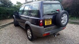 2001 Land Rover Freelander GS