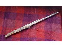 Flute, Trevor James 10xIII beginner flute