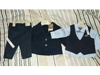 NEW! Baby boys suit from next. 3-6 months