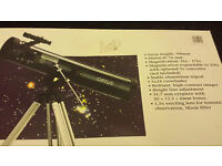 Optus telescope like new condition