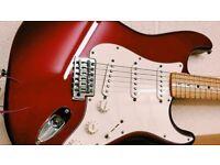 Stunning 2013 Fender Standard Stratocaster MIM with Fender USA Hardcase