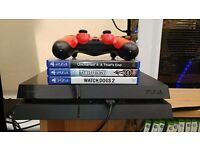 Boxed ps4 with 3 games