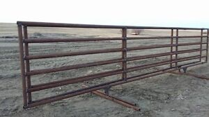 Corrals and gates.