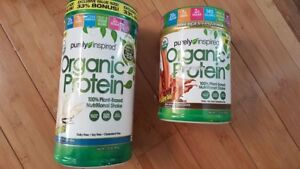 Purely Inspired, Organic Protein, 100% Plant-Based Nutritional