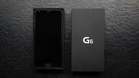 Lg G6 unlocked 32gb black 12 month waranty