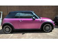 mini cooper convertible 06 reg bargain for quick sale
