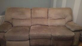 3 Seater Sofa Recliner