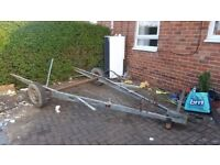 Abbey caravan trailer excellent for advertising boards ,motorbike trailer,ect