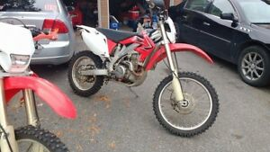 BLUE PLATED 2009 CRF450X