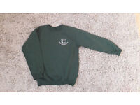 Leesland top green jumper age 10