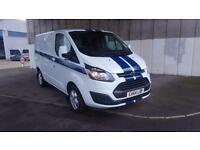 64 reg Ford Transit Custom 2.2TDCi ( 100PS ) ECOnetic 270 L1H1 Base/Sport/Alloys