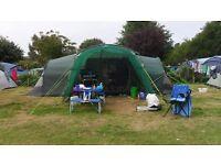 Hi Gear Zenobia 6 tent with canopy