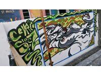 Grafitti, Street Art, Urban Art Muralist