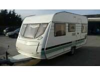 Bargain! 2004 Lunar Chateau 5 berth caravan with full awning and accessories.