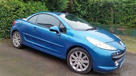 Peugeot 207 GT cc 1.6 Blue 08 reg