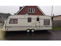 22ft Twin wheel caravan, sleeps 5/6 ppl. All working 100% Damp free