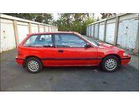 1991 Honda Civic (EF) GL 1.4 Auto, MOT OCT '17