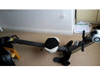 Great condition foldable rowing machine