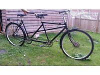 Vintage Tandem bike 1930s Full working