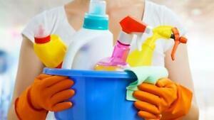 Femme de ménage / Entretien ménager - 514-247-3687