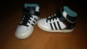 Boys size 8 ADIDAS High Top Sneakers