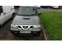 nissan terrano tdi 7 seater only done 66k miles