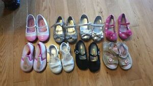 Girls size 6 and 7 shoes $5 each or 2 for $8