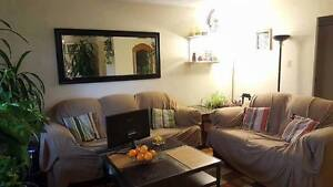 Sublet one furnished bedroom in two bedroom apartment