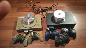 Chipped ps1 and ps2 with freemcboot bundle