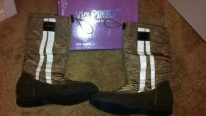 New- Womens Via Pinky Collection Boots-Size 8
