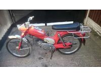 1973 puch ms50v moped