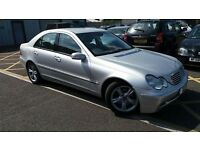 2001 Mercedes Benz C270 CDI Automatic (Sat Nav, Leather Seats)