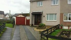 Two bedroom family home to rent. Quiet culdesac location. Driveway and extensive secure gardens.