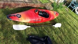 £200.00 Kayak Perception Whip it and spraydeck