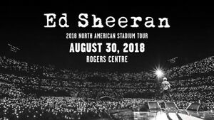 Ed Sheeran - Floor Seats (2 tickets)