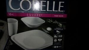 Brand New Corelle Dinnerware - Pure White