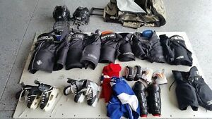 Kids Hockey Equipment see ad for prices